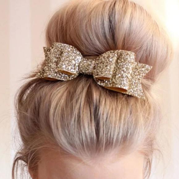 Large Hair Bow Clip